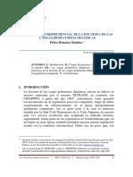 Aplicacion Jurisprudencial de La Doctrina de Las Cargas Probatorias Dinamicas