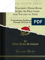 The Teachers Hand-Book of Slojd as Practised and Taught at Naas 1000024134