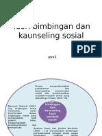Teori Bimbingan Dan Kaunseling Sosial