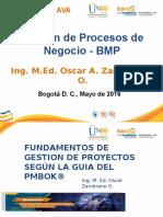 Presentación Proyecto Tecnopedagógico - Gestión de Procesos de Negocios - BMP