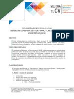 Diplomado Qhse - Unp - Econsultores