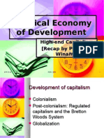 High-End Capitalism - PED HI UGM - 2009