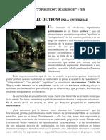 Los Academicistas Sin Partido Un Caballo de Troya (1)