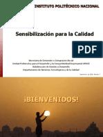 sensibilización ISO 9001