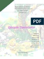 Glosario Taxonomico Final