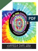 Kaposia Days 2016