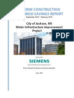 City of Jackson Interim Construction_Water Meter Testing Report FINAL
