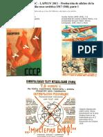 Afiches Constructivismo Ruso