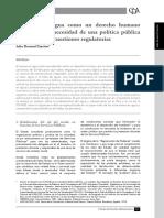 El Acceso Al Agua Derecho Humano No Question Regulatoria