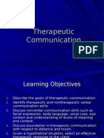 DCLC Therapeutic Communication