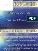 Hindu Education