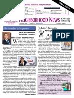 HONNA Quarterly Newsletter June 2016