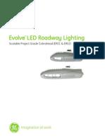 Manual de Lamparas LED ERS1 GE Roadway Project Grade 2015