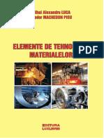 elemente de tehnologia materialelor