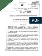 Vr punto salarial 2015 $11246 DEC 1059 2015