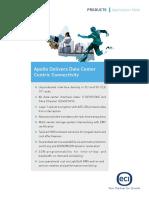 Apollo Opt9608 Delivers Data Center Centric Connectivity