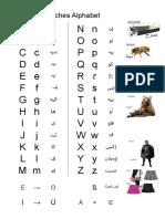Alfabet Arabisch - Lateinisch