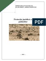 Referat Protectia Juridica a Padurilor