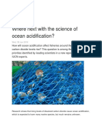 Where Next With the Science of Ocean Acidification