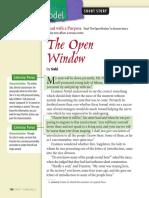 Open Window-By Saki