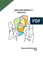 Manual de Comunicación Efectiva y Asertiva