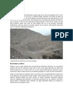 Ecosistemas Habitats Flora y Fauna de Cieneguilla