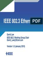 IEEE 802d3 Ethernet