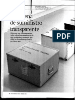 Articulo Cadena de Suministro Transparente Hbr Lectura