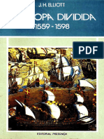 J.H. Elliot - A Europa Dividida 1559-1598