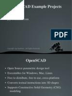 OpenSCAD Ejemplos