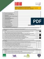 Pauta Evaluacion Establecimientos de Educacion Parvularia y Escolar RM 2014
