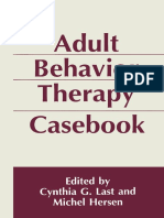 Cynthia Last & Michel Hersen (Eds.) - Adult Behavior Therapy Casebook