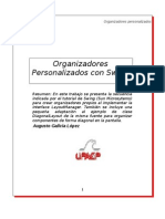 Organizadores Personalizados con Swing