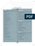 Cedar Grove Dallas - FoodMenu