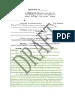 Draft of propose parking ordinance in Bremerton