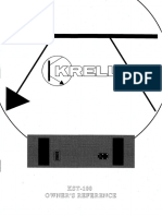Krell KST-100 Owners Manual