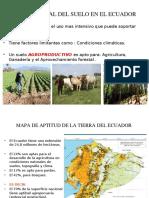 Uso Potencial Del Suelo en El Ecuador