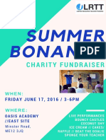 Summmer Bonanza Poster With Picture