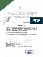 Certificado Fabian Torres