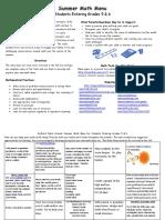 g5-6 math menu 2016