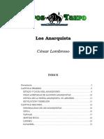 Lombroso, Cesar - Los Anarquistas