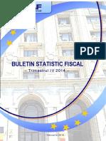 Buletin Statistic Fiscal 4 2014
