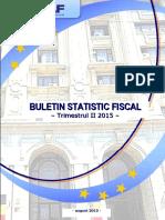 Buletin Statistic Fiscal Nr 2 2015 15092015