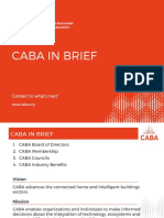 CABA in Brief (Updated
