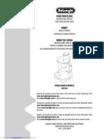 De Longhi dfp250 manual