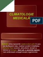 CLIMATOLOGIE-MEDICALĂ