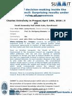 Announcement SUMMIT Roundtable Prague April 2016