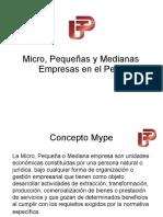 Mypes en El Peru