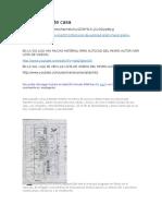 Autocad Materiales Importantes HACER PLANO de CASA 5 SOEDIV