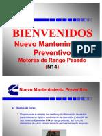 Mantenimiento Preventivo Cummins n14